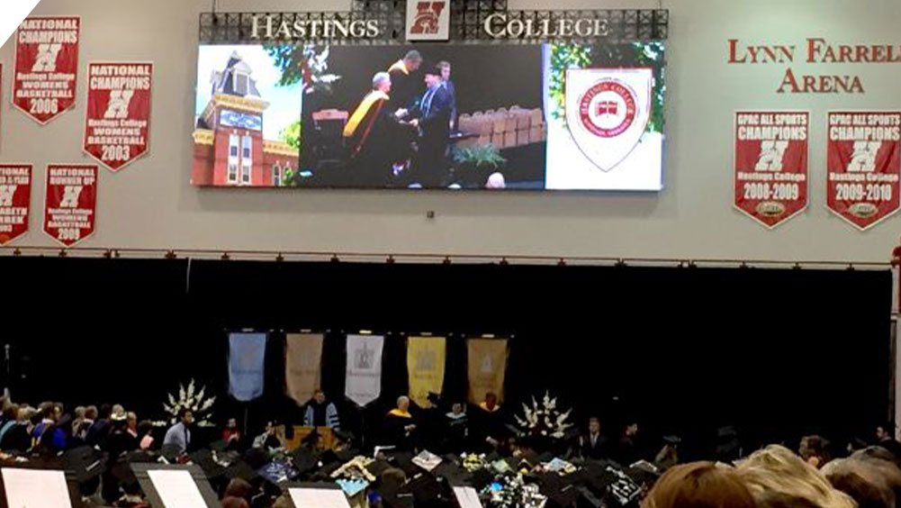 Graduation Ceremony at Hastings College