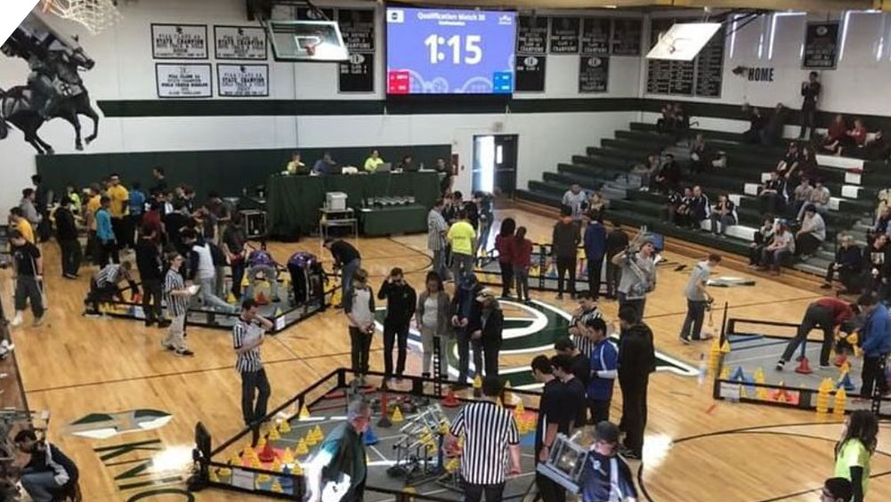 Robotics Competition at Delaware County Christian School