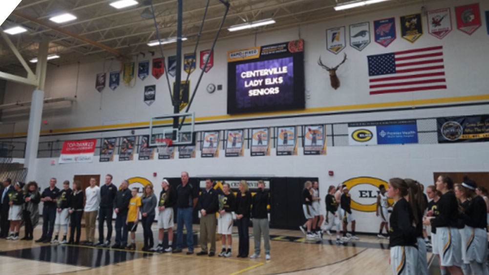 Senior Recognition Night at Centerville High School