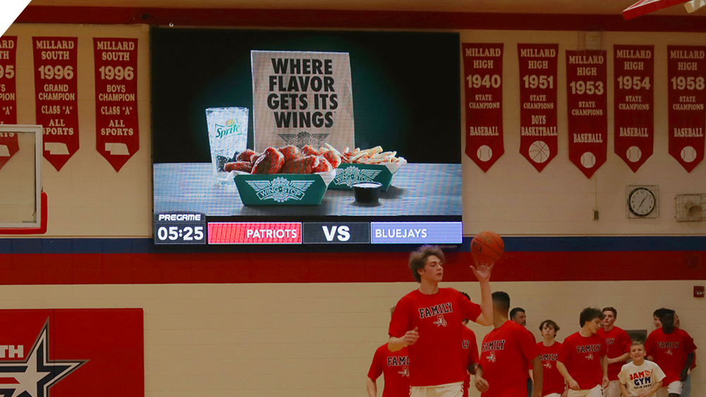 Sponsor Ad at Millard South High School