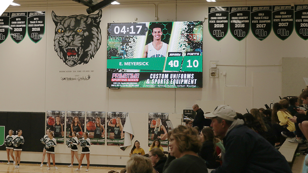 Sponsor Ad at Millard West High School