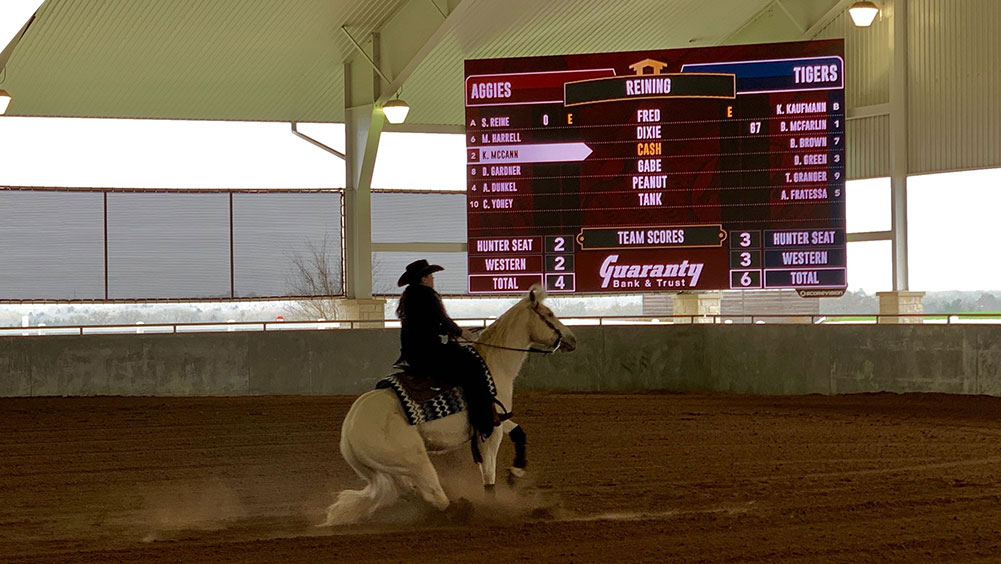 LED Equestrian Video Scoreboard at Texas A&M University