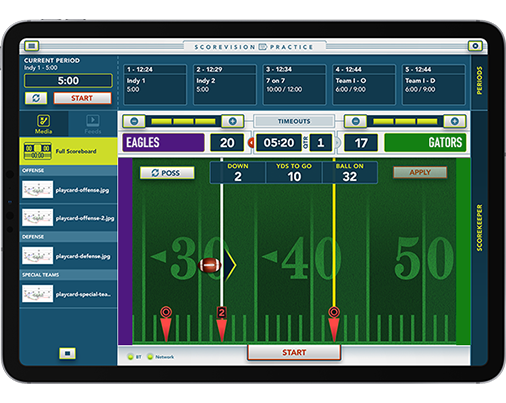 ScoreVision Practive App for Football